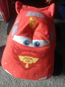 Large Disney Cars Character Toys Lightning McQueen Soft Toy Stuffed Teddy Plush