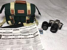 Canon Rebel 2000 35mm W/ Canon Zoom EF 28-80mm 1:3.5-5.6 II Len PLUS ef 75-300!