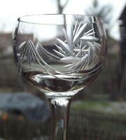 Hübsches LIKÖRGLAS Schleuderstern JUGENDSTIL nach 1910 EINZELSTÜCK Sammlerglas