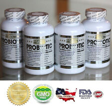 4X ULTRA PROBIOTIC 50-100 Billion CFUs RAW ULTIMATE FLORA PRIMAL NATURE'S ALIGN