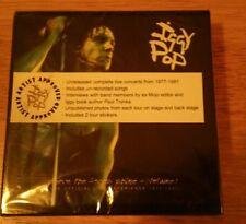 Iggy Pop – Where The Faces Shine - Volume 1 (6 CD Box Set 2007) New & Sealed