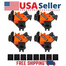 [FRAME CORNER CLAMPS] 4PC 90 Degrees Right Angle Clamp Clip Quick Grip Set Tools