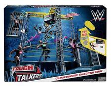 WWE Tough Talkers Wrestling Championship Takedown Ring
