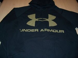 UNDER ARMOUR LONG SLEEVE BLACK HOODIE MENS 4XL EXCELLENT CONDITION