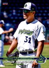 2019 Vermont Lake Monsters Choice #15 Jorge Martinez Panama - NM Baseball Card
