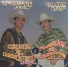 Leonel el Ranchero y Almikar el cazador Remate de feria un sol Vivo CD New Nuevo
