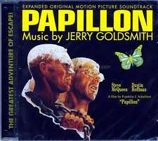 "Jerry Goldsmith ""PAPILLON"" expanded score CD Quartet 27 tracks SEALED sold out"
