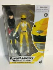 """In Stock! Power Rangers Mighty Morphin Yellow Lightning Collection 6"""" Figure"""