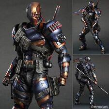 Play Arts Kai Deathstroke Arkham Origin DC Comics Action Figure Model Statue Toy