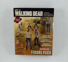 AMC The Walking Dead Figure Pack #1 McFarlane Building Sets 5 Figure Set