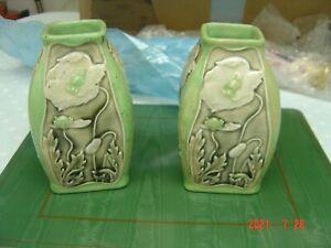 pair royal doulton vases