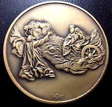 ITALIAN PAINTER / GIOVANNI B. PIAZZETTA 1682- 1754 / ELIAS ON FIRE TRUCK / M100