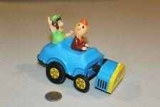 Vintage Wind Up Toy Mechanical Car Cragstan Back Seat Driver Blue 1960s WORKS
