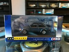 Vanguards Ford Escort Mk3 XR3 Caspian Blue 1/43 MIB Ltd Ed VA11010