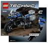 LEGO® Technic 42063 BMW R 1200 GS Adventure - Bauanleitung / Instrucions Only