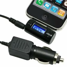 Wireless FM Transmitter +Car Charger Remote for iPhone 3G 3GS 4 4G 4S iPod Touch