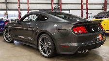2015-2017 Ford Mustang Coupe Roush Rear Spoiler Wing Magnetic Gray J7 421888