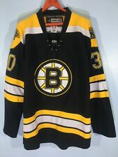 Vintage CCM Tim Thomas Boston Bruins NHL Ice Hockey Player Shirt Team Jersey 50