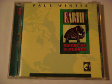 """PAUL WINTER """"Earth Voices of A Planet"""" 1990 Living/Windham Hill w/ Animal Sounds"""