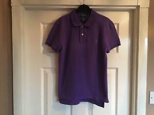 Boys Ralph Lauren Polo Shirt Age 10-12 Years