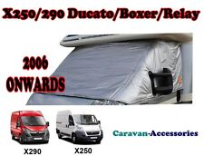 External Cab Thermal Screen Insulated Turn Down Ducato Boxer Relay X250 Camper