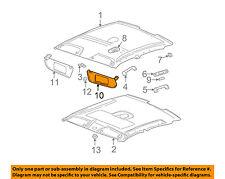 Saturn GM OEM 2000 LS Roof-Sunvisor Sun Visor Right 90440494