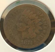 1874 P Indian Head 1 Cent (C#2930)