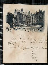 LONDON  Middle Temple Hall      gelaufen 1900