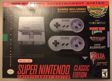 Super Nintendo Classic Edition NES Console 20 Games New