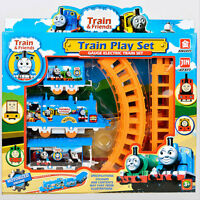 Best New Trains Cars Kids Toys Train Set And Friends Electric Track Toy.