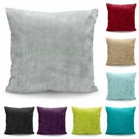 Faux Fur Cushions FILLED Cushion PAD Luxury Plush Plain 18 x 18 inches, 43x43cm