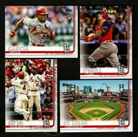 2019 Topps Series 1 2 Update ST LOUIS CARDINALS Team Set 32 Card Tommy Edman RC