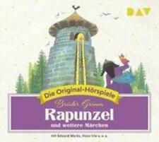 Rapunzel und weitere Märchen | Die Original-Hörspiele | Wilhelm Grimm | Audio-CD