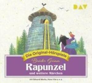 Rapunzel und weitere Märchen   Die Original-Hörspiele   Wilhelm Grimm   Audio-CD