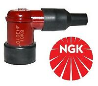 NGK Spark Plug Cap LB10EHF-R Resistor Cover (Red) 90º Elbow LB10EHFR  (8058)