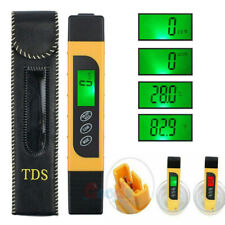 Professional Quality TDS EC Temperature Meter Water Quality Test Meter 0-9990ppm
