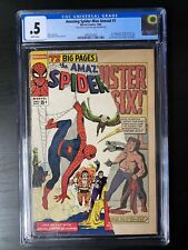 Amazing Spider-Man Annual #1 CGC .5 1st Appearance Sinister Six MCU White Pages