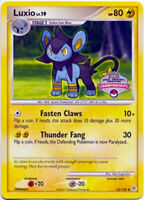 Luxio 52/130 Pokemon State, Province, Territory Championships NM+ With Tracking