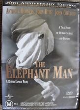 THE ELEPHANT MAN OOP RARE DELETED R4 PAL DVD DAVID LYNCH CLASSIC JOHN HURT