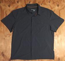 Arc'teryx Skyline SS Polo Golf Shirt Mens XX Large XXL Delos Gray Arcteryx (EUC)