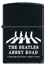 BEATLES ABBEY ROAD 2012 LICENSED APPLE ZIPPO LIGHTER MINT IN BOX !