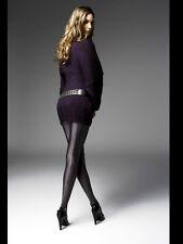 Platino Luxe Fata, High Gloss with Seam, Black, Wetlook, Tights Opaqu