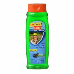LM Hartz UltraGuard Rid Flea & Tick Shampoo - Fresh Scent 18 oz