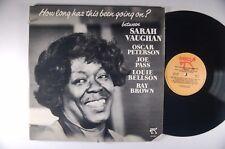 SARAH VAUGHN How Long Has This Been Going On? JAZZ LP PABLO 2310-821
