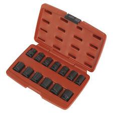 ORIGINAL Sealey ak5614m Impacto Enchufe Set 13 piezas 1.3cmsq DRIVE 12pt