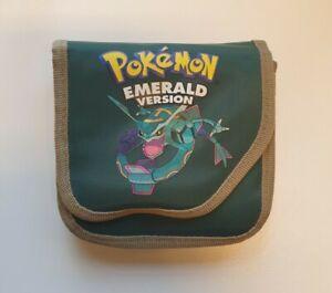 Pokemon Emerald Version Case For Nintendo Game Boy Advance SP Storage Game Case