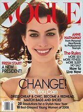 Vogue - January, 2009 Back Issue
