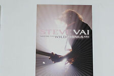 Steve Vai -Where the Wild Things Are- 2xDVD