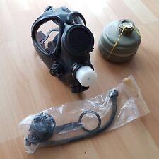 Selten: Israelische M15 Gasmaske Größe 3 + Atemschutz // ABC Maske / Gas Mask