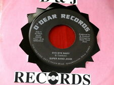 SUPER BAND JHAM~ BYE BYE BABY~ MODERN BOOGIE~ OUT OF OHIO~ RARE~ O'DEAR~ SOUL 45